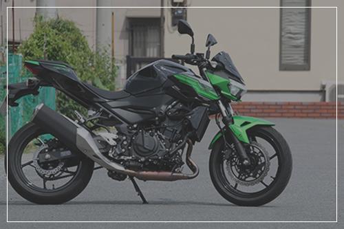 オートバイの車両販売