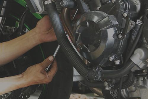 オートバイの整備・車検